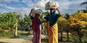 Türk Kızılay'dan Endonezya'da gıda yardımı