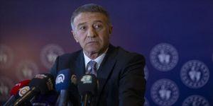 Trabzonspor Kulübü Başkanı Ahmet Ağaoğlu: Mevcut şartlar içinde çalışmalarımızı sürdürüyoruz