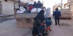 İdlib'de ateşkesin ikinci ayında evine dönen sivillerin sayısı 257 bine yaklaştı