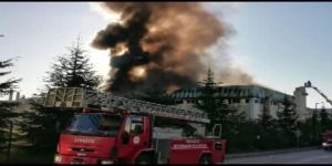 Gebze Plastikçiler'de bir fabrikada yangın çıktı