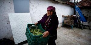 'Kadın için daha zor' olsa da pazarcılıkla 25 yıldır ailesini geçindiriyor