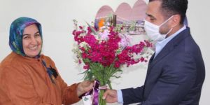 Sarıtoprak'tan şehit annesine ziyaret