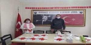ADD Gebze,basın mensuplarına ücretsiz maske dağıtımı yaptı