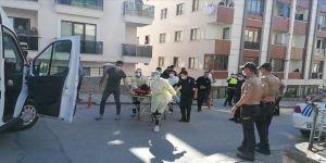 Gebze'de,motosiklet sürücüsü ve polis arasında kovalamaca kazayla bitti
