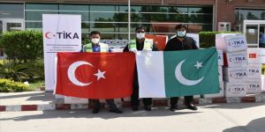 TİKA'dan Pakistan'ın Kovid-19 ile mücadelesine destek
