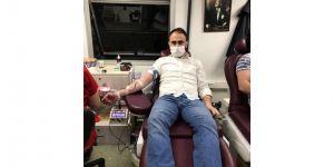Saadet Partisi Gebze Gençlik Kolları'ndan kan bağışı