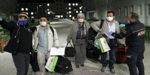 Erzurum'da karantina süresi dolan 264 kişi evlerine uğurlandı