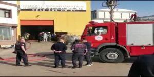 Dilovası bir fabrikada kazan patlaması sonucu 3 kişi yaralandı.