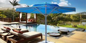 Geliştirilen panelli şemsiyeler hem güneşten koruyor hem enerji üretiyor