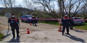 Kocaeli'de bir köy karantinaya alındı