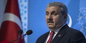 BBP Genel Başkanı Destici: Seçilmiş olmak, kimseye teröre destek verme hakkı vermez