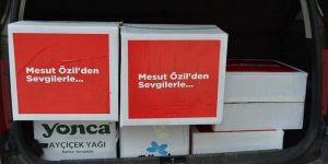 Mesut Özil'den Manisa'da 280 aileye gıda kolisi desteği