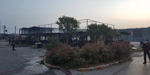 Gebze'de bir lokanta yangında küle döndü ! Bir tek Kuran-ı Kerim yanmadı