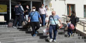 Malatya'da karantina süreci dolan 169 kişi evlerine uğurlandı