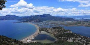 Muğla'nın dünyaca ünlü sahilinde 'koronavirüs' sessizliği