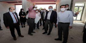 Darıca'da 1800 kişilik spor salonu inşaatı devam ediyor