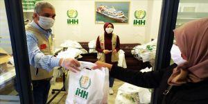 İHH'dan Gazze'de ihtiyaç sahibi 400 aileye yardım