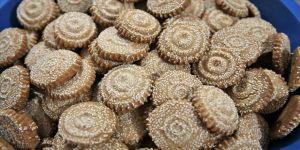 Hatay'ın ramazan kurabiyesi kömbe bayramda akrabaya gönderilecek