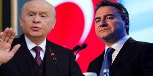 """Ali Babacan'dan yeni partiler için """"FETÖ organizasyonu"""" diyen Bahçeli'ye sert cevap"""