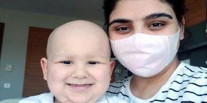 Lösemi hastası minik Kuzey'e Yunanistan'dan gelen bağış ilik nakledildi