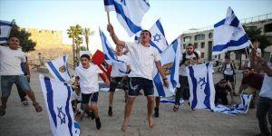 Yahudiler Doğu Kudüs'te işgalin 53. yılını kutladı