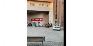 Darıca Farabi'de,Güvenlik görevlisine testereyle saldırdı