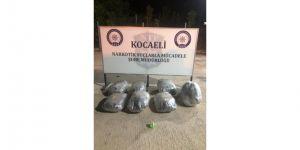 Kargo firmasına ait araçta yüklü miktarda uyuşturucu ele geçirildi