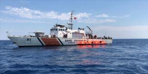 Yunan Sahil Güvenlik unsurlarınca Türk kara sularına bırakılan 72 sığınmacı kurtarıldı