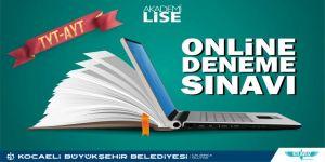 Akademi Lise'de online deneme sınavları