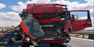 Gebze TEM Otoyolunda trafik kazası