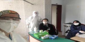 Darıca ADSM Diş Hekimleri,Covid-19 ile Mücadelede Sahada