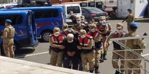 Erzurum'da 5 kişinin öldüğü silahlı kavganın zanlıları adliyeye sevk edildi