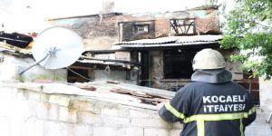 Evleri yanan aileler Barınma Merkezi'ne yerleştirildi
