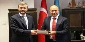 Ahmet Yesevi Üniversitesi Mütevelli Heyet Başkanlığında devir teslim töreni yapıldı