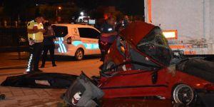 Sarıyer'de bariyerlere çarpan motosikletin sürücüsü öldü
