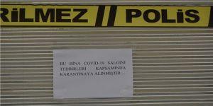 Şanlıurfa'da bir ekmek fırını ile 11 bina karantinaya alındı