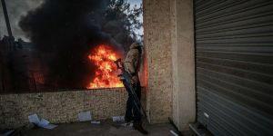 Libya ordusundan Sirte kentindeki Hafter milislerine 5 hava harekatı