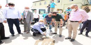 Gebze'de sivrisinekle mücadele çalışmaları için sahaya indiler