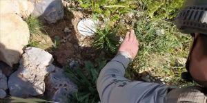 MSB: Hakkari'de PKK'lı teröristlerce kullanılan iki girişli mağaradaki mühimmat ve patlayıcılar imha edildi