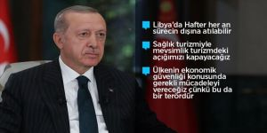 Cumhurbaşkanı Erdoğan'dan Yunanistan'a Ayasofya yanıtı