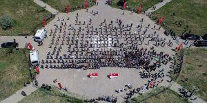 Van'da PKK'lı teröristlerin şehit ettiği işçiler son yolculuklarına uğurlandı