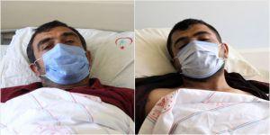 PKK'lı teröristlerin saldırısında yaralanan işçiler saldırı anını anlattı