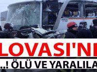 DİLOVASI'NDA FACİA GİBİ KAZA..! ÖLÜ VE YARALILAR VAR