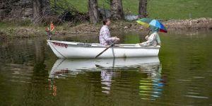 Tarihi Tamzara Mahallesi'nin Silbehan Göleti doğal güzelliğine kavuştu
