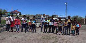 Köy çocukları hayırseverlerin desteğiyle teknolojiyle buluşuyor