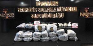 Diyarbakır'da uyuşturucu satıcılarına büyük darbe