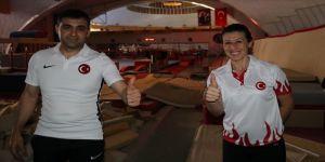 Milli hakemler olimpiyatlar için ter döküyor