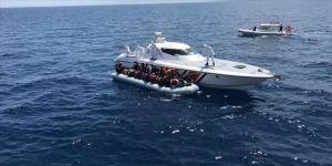 Sahil Güvenlik Komutanlığınca son bir haftada 381 düzensiz göçmen yakalandı