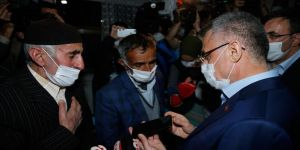 Cumhurbaşkanı Erdoğan depremde şehit olan güvenlik korucusunun ailesine başsağlığı diledi