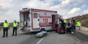 Eskişehir'de yolcu otobüsü ile çekici çarpıştı: 17 yaralı
